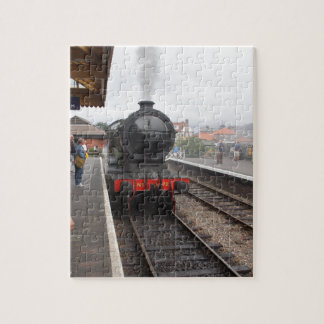 Steam Engine at Sheringham Jigsaw Puzzle