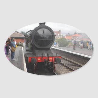 Steam Engine at Sheringham Oval Sticker