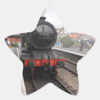 Steam Engine at Sheringham Star Sticker