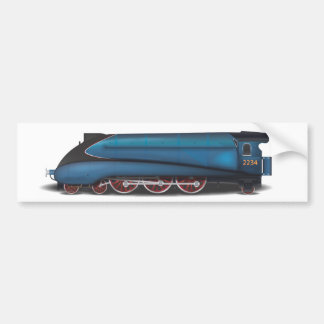Steam Engine Bumper Sticker