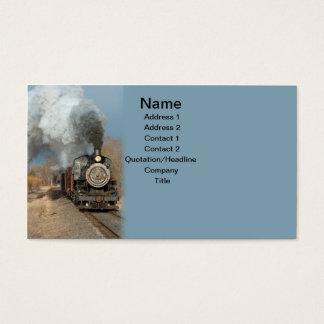 Steam Engine Business Card