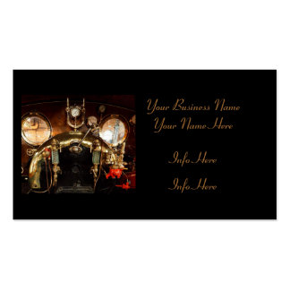 Steam Engine Cab Pack Of Standard Business Cards