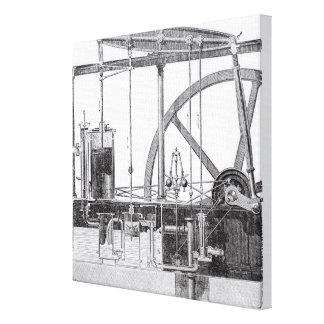 Steam Engine Gallery Wrap Canvas