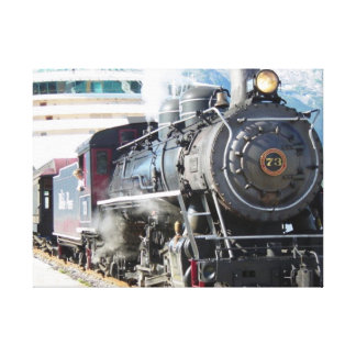 Steam Engine Canvas Stretched Canvas Prints
