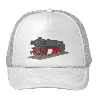 Steam engine cap