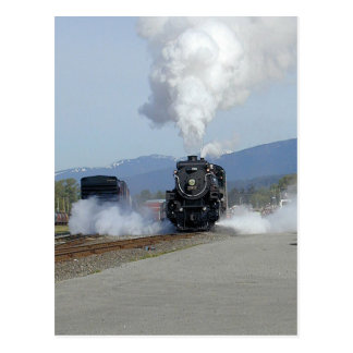Steam engine CPR 2816 The Empress Post Cards