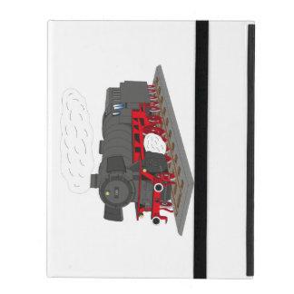 Steam engine iPad folio case