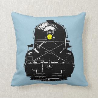 Steam Engine Locomotive Train Cushion
