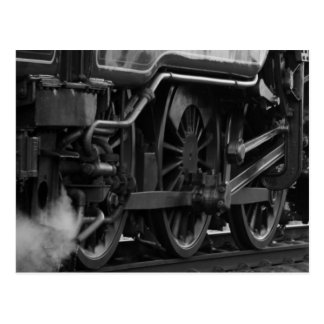 Steam Engine Locomotive Train Gifts Postcard