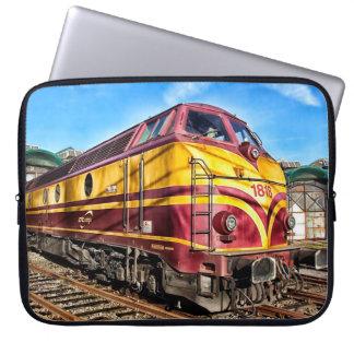 Steam Engine Locomotive Train Graffiti Sleeve Laptop Computer Sleeves