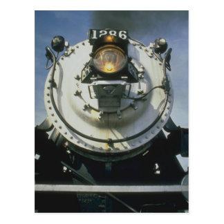 Steam engine No. 1286 Post Card