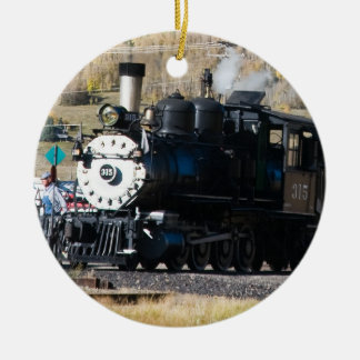 Steam Engine Ornament