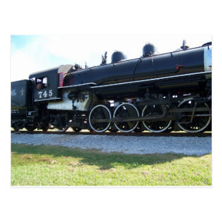 Steam Engine Post Card