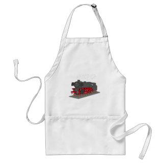 Steam engine standard apron