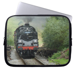 Steam Engine Train Laptop Case