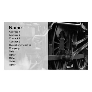 Steam Engine Train Locomotive Business Card