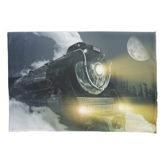 Steam Locomotive (1 side) Pillowcase