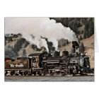 Steam Locomotive Card