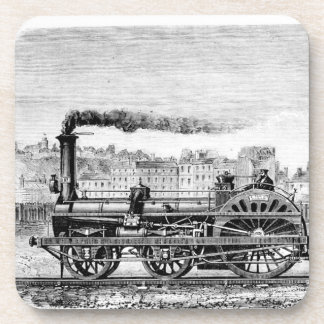 Steam locomotive coaster
