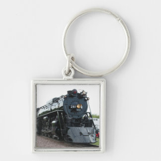 Steam Locomotive Keychain