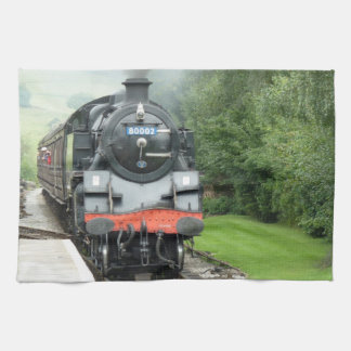 Steam Locomotive Kitchen Towel