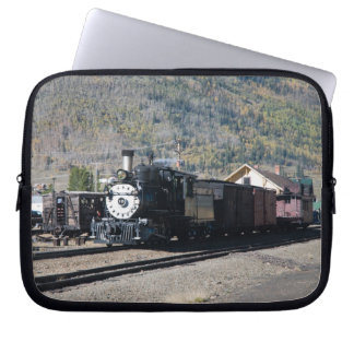 Steam Locomotive Landscape Laptop Sleeves