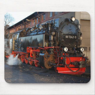 Steam locomotive mouse pad