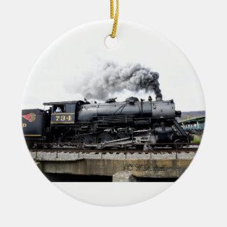 Steam Locomotive Ornament