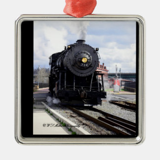 Steam Locomotive Ornament
