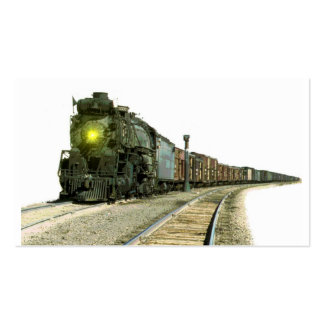 Steam Locomotive Scenery Pack Of Standard Business Cards