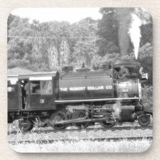 Steam Locomotive Train Beverage Coaster