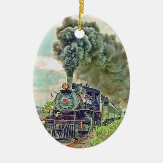 Steam Passenger Train Ornament