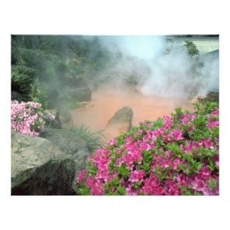 Steam pool in Bephu Japan Flyers