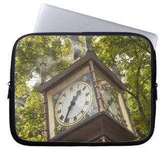 Steam powered clock in the Gastown neighborhood Laptop Sleeve