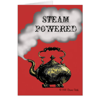 Steam Powered Greeting Card