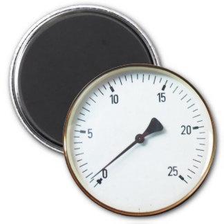 Steam Pressure Gauge Dial 6 Cm Round Magnet