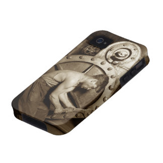Steam Pump Mechanic iPhone 4 Case
