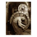 Steam Pump Mechanic Postcards