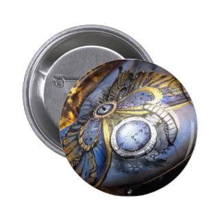 Steam punk 6 cm round badge