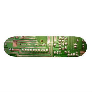 Steam Punk - Circuits 6 Custom Skate Board
