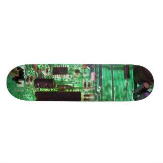 Steam Punk - Circuits 7 Skate Board Deck