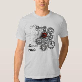 Steam Punk Clockwork Red Eye Quirky Fashion Tops Tee Shirt