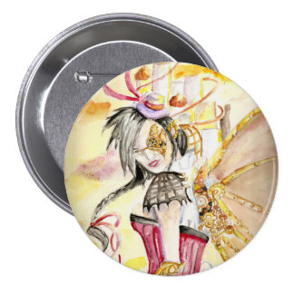 Steam Punk Faery 7.5 Cm Round Badge
