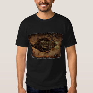 steam punk fish t shirt