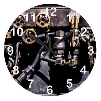 Steam Punk Gears and Gauges Clocks
