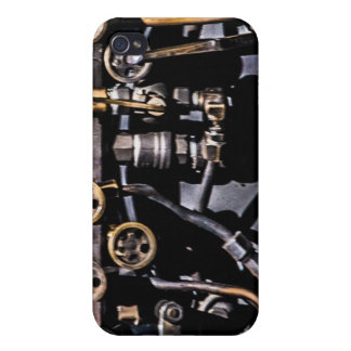 Steam Punk Gears and Gauges iPhone 4 Cases
