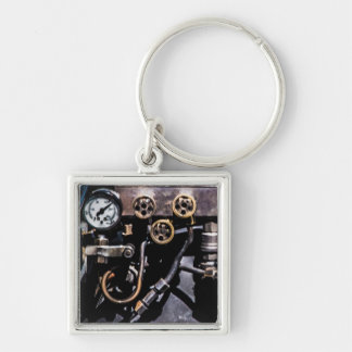 Steam Punk Gears and Gauges Key Ring