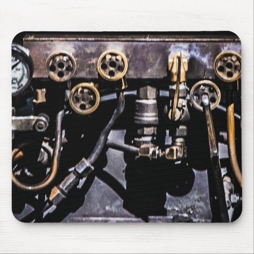 Steam Punk Gears and Gauges Mousepad