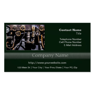 Steam Punk Gears and Gauges Pack Of Standard Business Cards