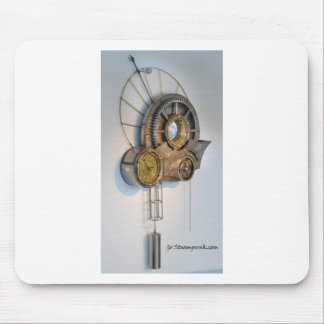 Steam punk gears mouse pad